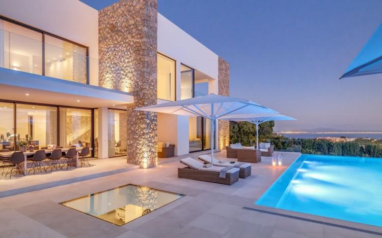 Villa in Bendinat  findes idag på Nano Mundo;billede 26